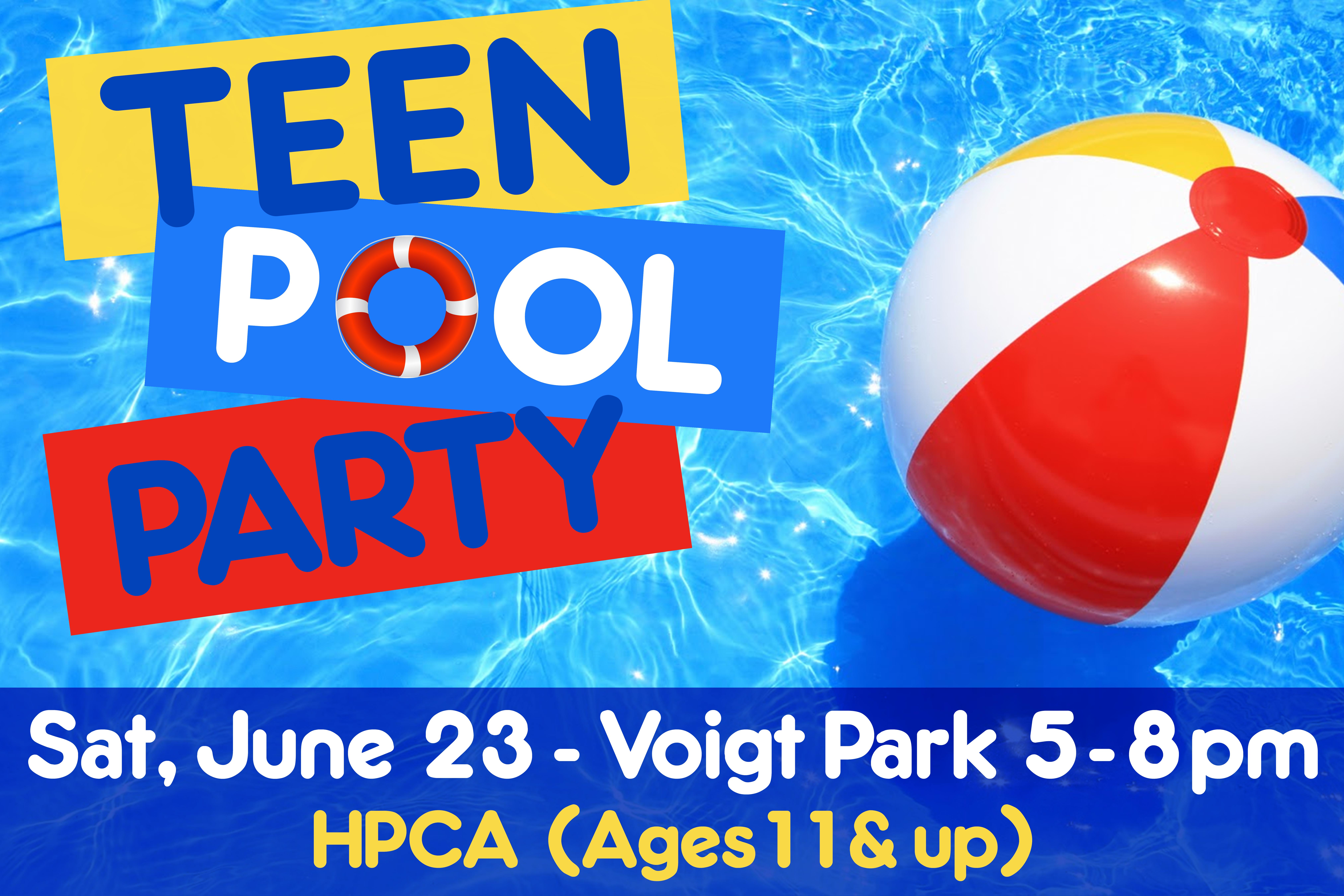 Pool Party Sign 18 x 27 R3evised with time and ages(3)